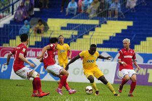 Đội chủ nhà V.League 2018 Than Quảng Ninh và Hải Phòng 'chia điểm'