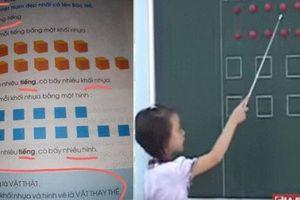 Bộ GD&ĐT lên tiếng về việc triển khai tài liệu đọc chữ bằng ô vuông, tam giác