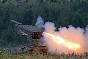 Thực chiến Syria, 'hung thần nhiệt áp' TOS-1A Nga phiên bản mới uy lực và chết chóc hơn