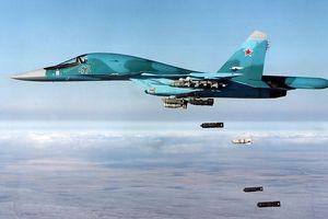 Không quân Nga dội lửa hủy diệt các nhóm thánh chiến trên mặt trận tây Syria