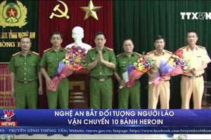 Khen thưởng Ban chuyên án bắt đối tượng người Lào vận chuyển Heroin