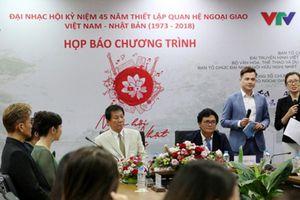 Giao lưu nghệ thuật kỷ niệm 45 năm thiết lập quan hệ ngoại giao Việt Nam – Nhật Bản