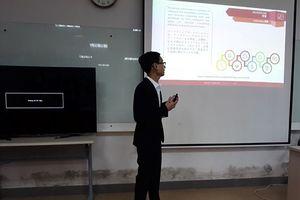 Website thương mại điện tử của sinh viên FPT lấy cảm hứng từ Trí tuệ nhân tạo