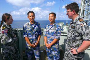 TQ lần đầu tham gia tập trận hải quân lớn nhất của Australia