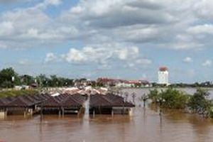 Lũ lụt trên diện rộng tại Lào
