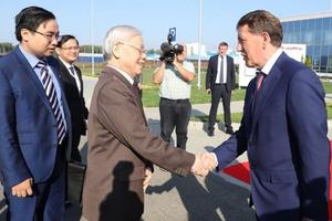 Báo chí Nga viết về quan hệ Việt - Nga nhân chuyến thăm của Tổng Bí thư Nguyễn Phú Trọng