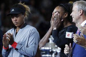 Người Mỹ la ó sau khi tay vợt Nhật đánh bại Serena Williams ở chung kết US Open
