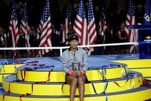 Cận cảnh Naomi Osaka lần đầu vô địch US Open sau khi hạ Serena
