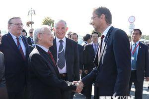 Tổng Bí thư Nguyễn Phú Trọng thăm thành phố Szentendre của Hungary