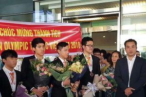 Thí sinh Olympic Tin học Việt Nam lọt top 10 thế giới