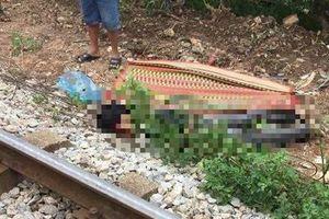 Hưng Yên: Người đàn ông bị tàu hỏa tông tử vong, thi thể biến dạng