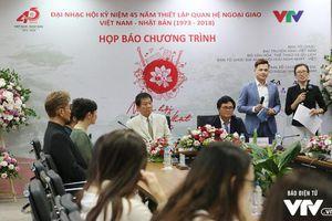 Khai mạc Nhạc hội Việt - Nhật 2018