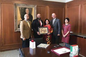 Trung ương Hội Chữ thập đỏ Việt Nam thăm và làm việc tại Hoa Kỳ