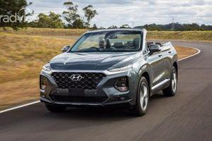 Hyundai Santa Fe mui trần bất ngờ ra mắt trên đất Úc