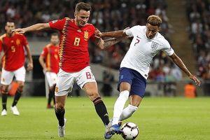 Toàn cảnh Anh 1-2 Tây Ban Nha: Luke Shaw chấn thương rợn người