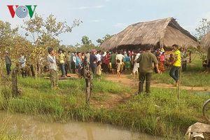 Hai mẹ con đuối nước thương tâm ở Đắk Lắk