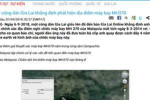 Người tự nhận biết chính xác vị trí máy bay MH370 rơi là ai ?