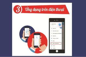 Hà Nội triển khai 'Sổ liên lạc điện tử' miễn phí, phụ huynh mong 'thoát' lạm thu công khai