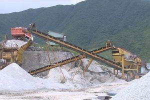 Hà Tĩnh: 'Điểm nghẽn' trong thu tiền cấp quyền khai thác khoáng sản