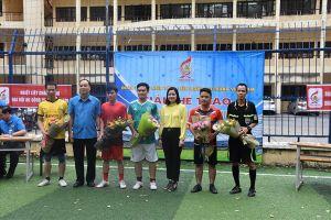 Cơ quan Tổng LĐLĐVN vô địch giải bóng đá chào mừng Đại hội XII Công đoàn Việt Nam