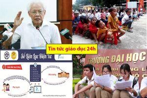 Tin tức giáo dục 24h: Những phát ngôn 'sốc' của GS Hồ Ngọc Đại