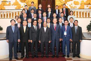 Thủ tướng tiếp Chủ tịch Liên đoàn Công nghiệp Hàn Quốc