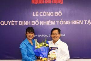 Ông Tô Đình Tuân làm Tổng Biên tập Báo Người Lao Động