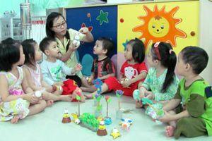 Tăng cường công tác quản lý và nâng cao đạo đức nhà giáo với GV mầm non