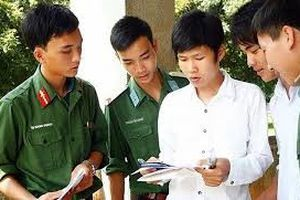 9 trường khối quân đội tuyển thông báo xét tuyển bổ sung