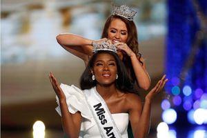 Người đẹp da màu đăng quang 'Hoa hậu Mỹ 2018'