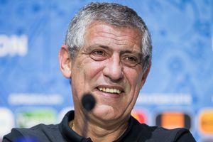 HLV Santos: 'Ý là thử thách lớn đối với Bồ Đào Nha'