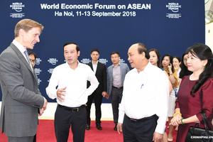 Hội nghị WEF ASEAN 2018 - Chung tay xây dựng Cộng đồng ASEAN trong thời kỳ Cách mạng công nghiệp 4.0