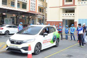 Honda Kim Thanh trao chứng nhận lái xe an toàn cho các học viên