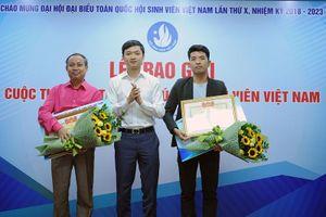 Trao giải sáng tác ca khúc về sinh viên Việt Nam