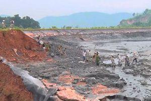 Vụ vỡ đập bãi thải ở Lào Cai: Dùng 500 tấn vôi để trung hòa axit