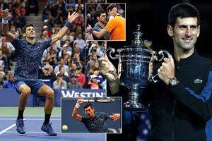 Vô địch US Open 2018, Djokovic sánh ngang Pete Sampras