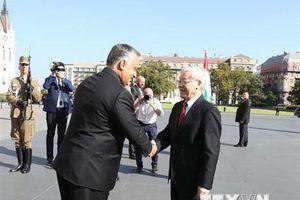 Việt Nam-Hungary nâng khuôn khổ quan hệ lên mức 'Đối tác toàn diện'