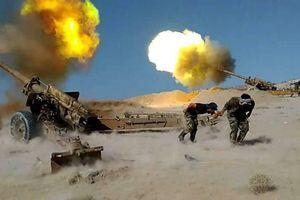 Pháo binh Syria khai hỏa dữ dội vào cứ địa Al-Nusra, phiến quân nháo nhác