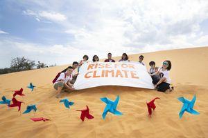 Nghệ sĩ Việt cùng 'Đứng lên vì khí hậu'