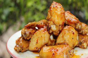 Biến tấu món cánh gà chiên mắm độc lạ, hấp dẫn
