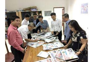 Đoàn nhà báo Việt Nam thăm và làm việc tại Lào