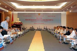 Tọa đàm 'Ngành Dầu khí Việt Nam trong cách mạng công nghiệp 4.0'