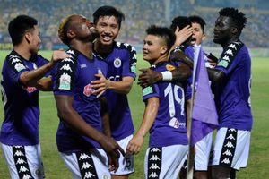 Thắng SLNA, CLB Hà Nội lên ngôi vô địch V-League sớm 5 vòng đấu