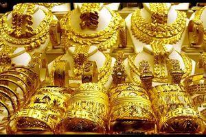 Giá vàng trong nước 'giậm chân tại chỗ' phiên đầu tuần