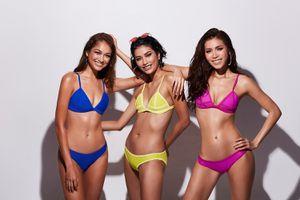 Minh Tú và dàn Á quân Nextop Châu Á diện bikini đọ hình thể nóng bỏng