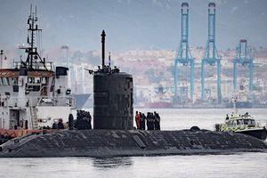 Anh điều tàu ngầm hạt nhân đến Địa Trung Hải giữa lúc Syria nước sôi lửa bỏng