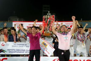 CLB Hà Nội của bầu Hiển chỉ còn kém huyền thoại Thể Công 1 chức vô địch