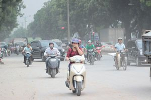 Hà Nội: 2 khu vực giao thông có chất lượng không khí ở mức kém