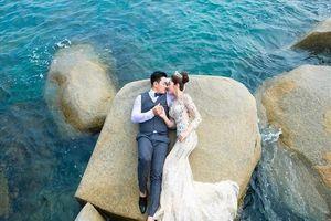 Hoa hậu Đặng Thu Thảo khoe ảnh cưới trước lễ ăn hỏi