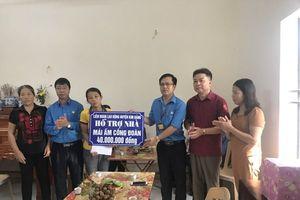 Hà Nam: Khởi công nhà Mái ấm công đoàn do Thủ tướng trao hỗ trợ